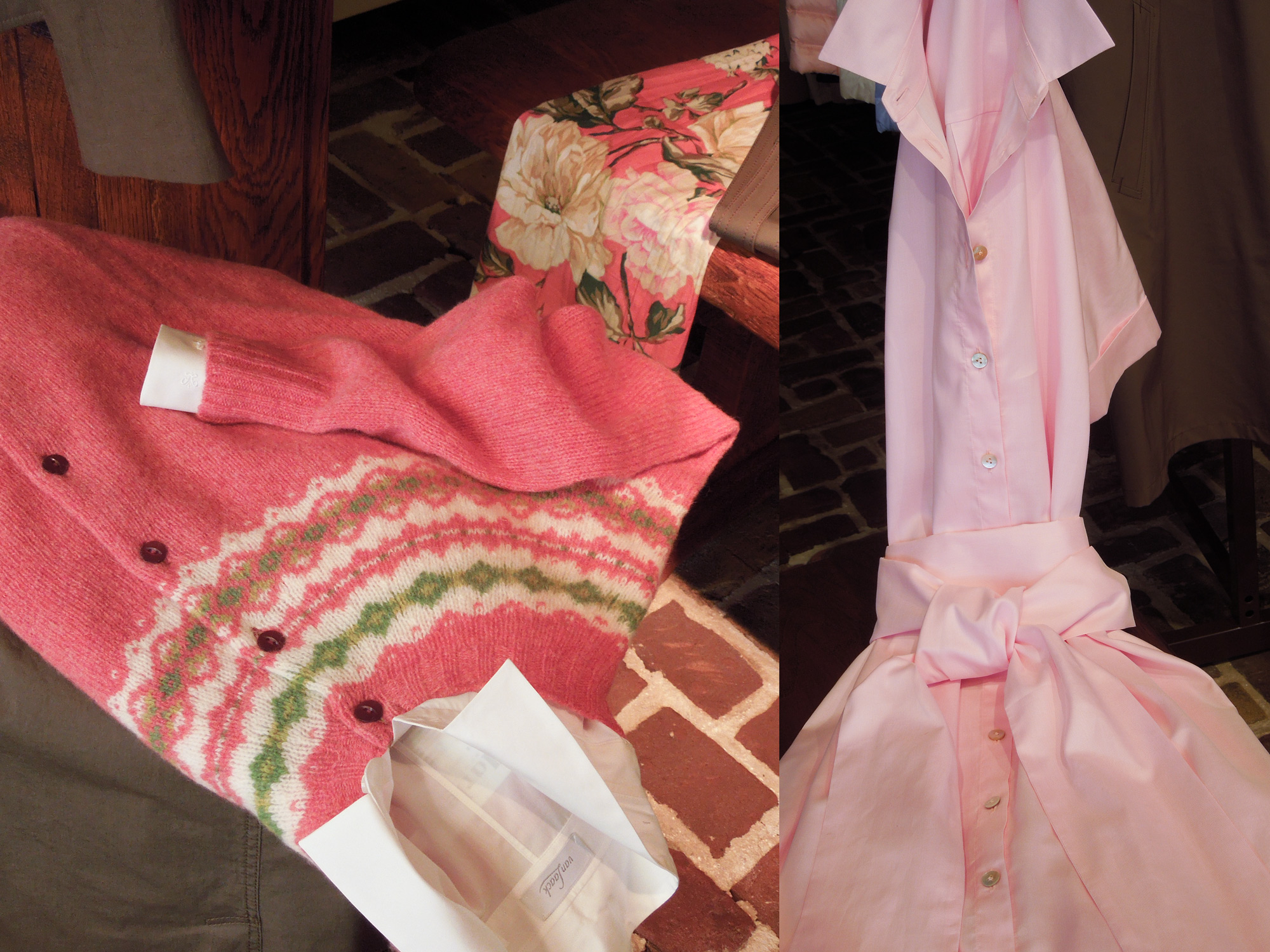Spring Roze trui en jurk