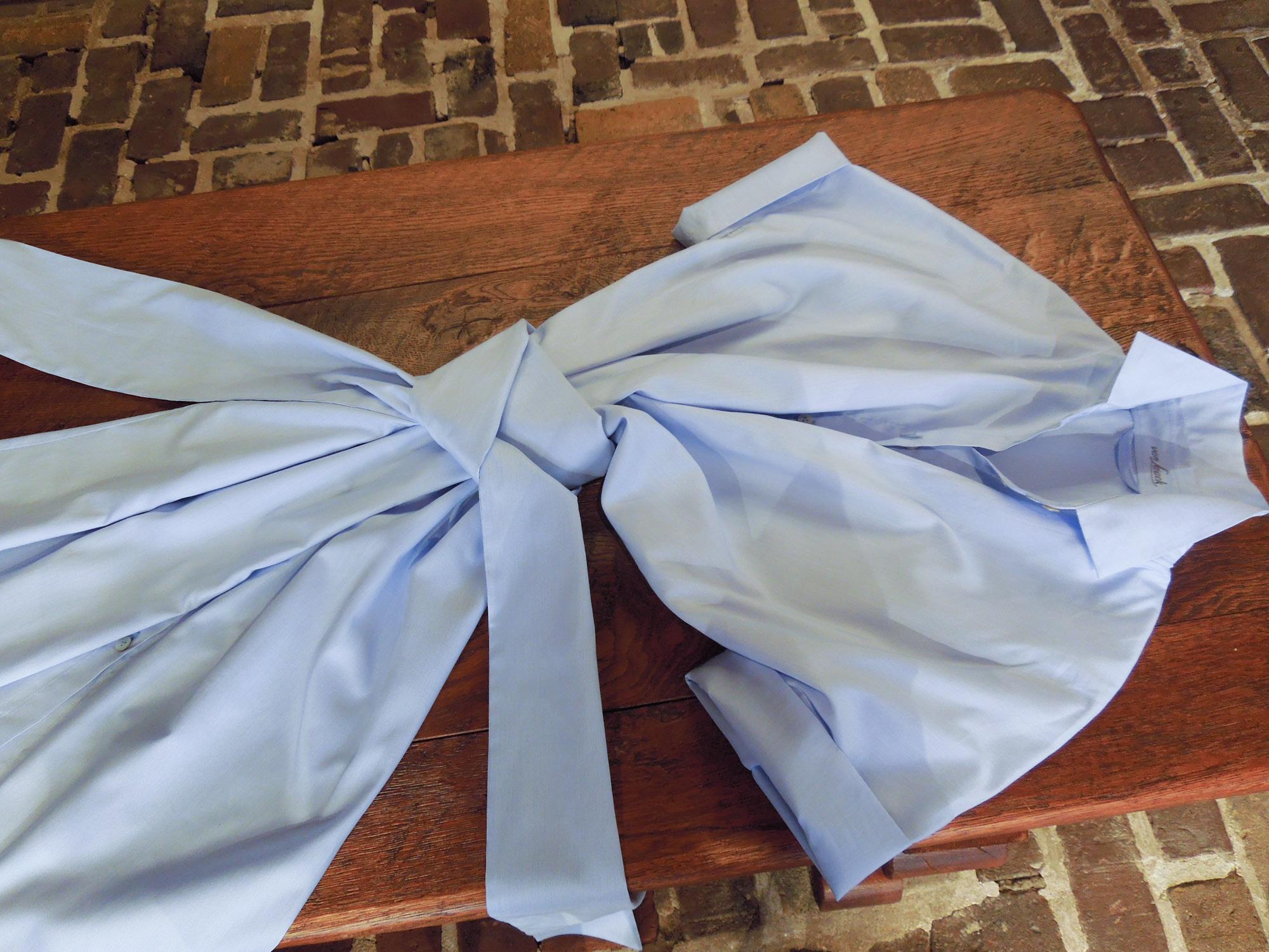 Spring Lichtblauwe jurk