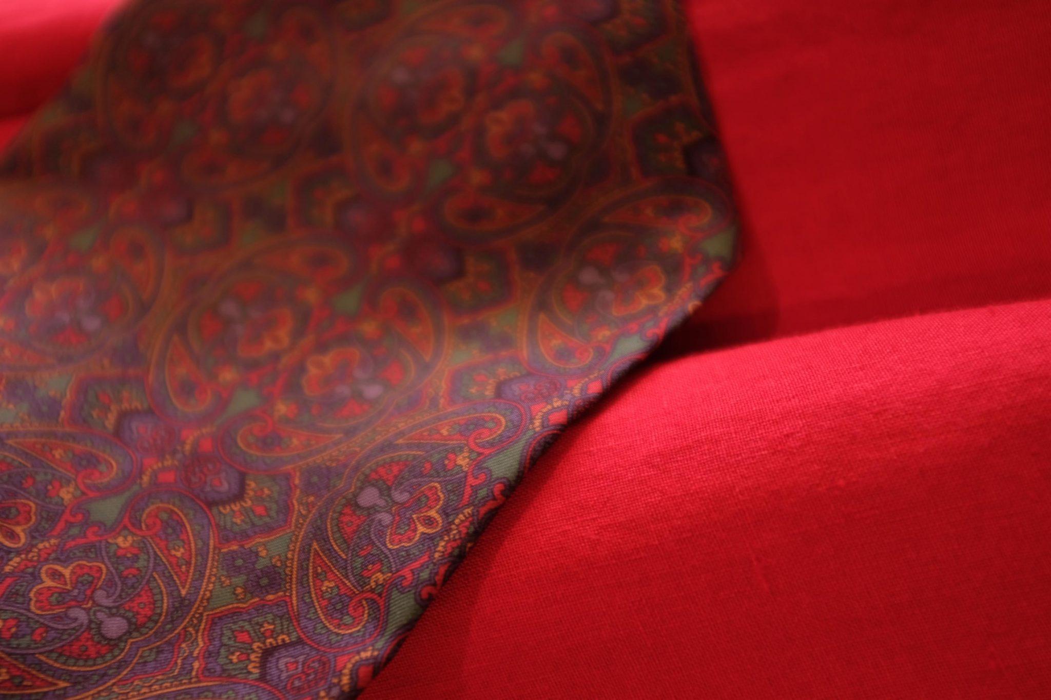 Rode shawl