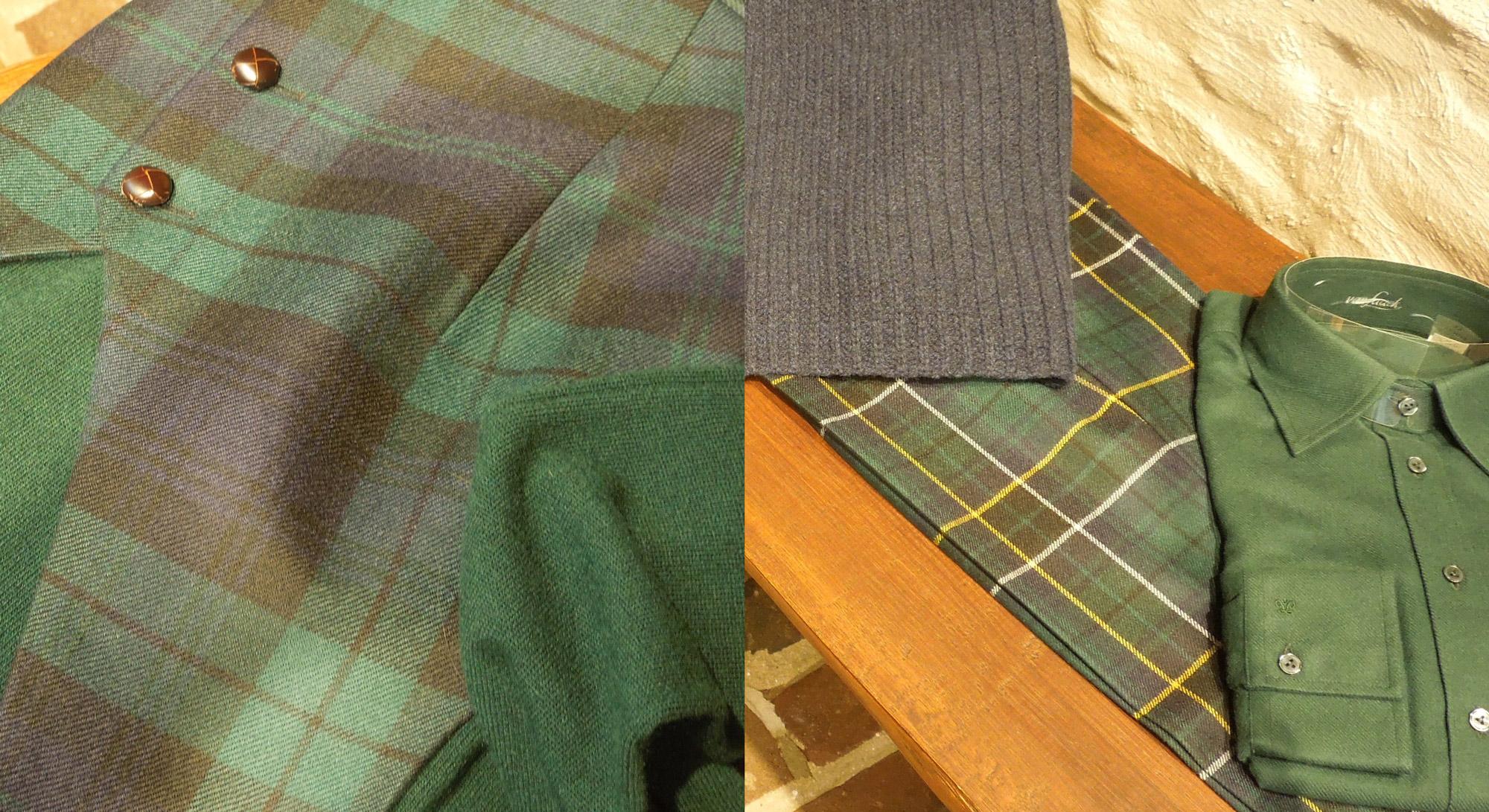 6 – Schotse ruiten groen